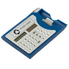 Calculator And Business Card Holder