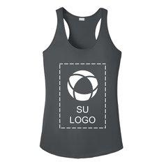 Camiseta sin mangas con espalda cruzada PosiCharge® Competitor™ para mujer de Sport-Tek® para serigrafía