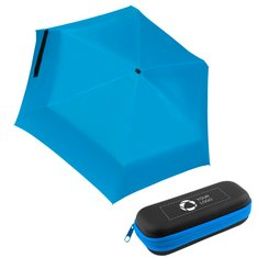 37 inch Mini Folding Travel Umbrella with Case