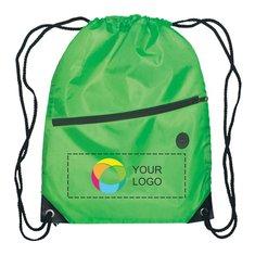 Drawstring Backpack with Full-Color Inkjet