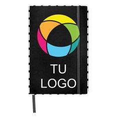 Libreta de tamaño A5 con estampado a todo color Spectrum de Bullet™