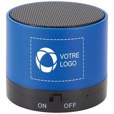 Haut-parleur et tapis de charge sans fil sur haut-parleur BluetoothMD Cosmic