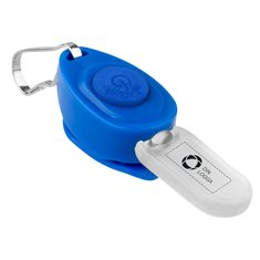 Bullet™ Eagle Zipper Puller nyckelring med LED-lampa