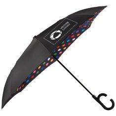 Parapluie de designer à inversion et à ouverture automatique de 1,22m (48po) StrombergMD