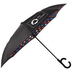 """Paraguas de diseño invertido con mecanismo automático de 48"""" de Stromberg®"""