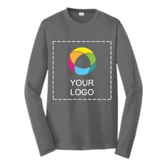 Sport-Tek® Long Sleeve PosiCharge® Competitor™ Cotton Touch™ Ink Printed Tee