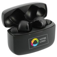 Écouteurs sans fil à jumelage automatique et contrôle actif du bruit A'Ray