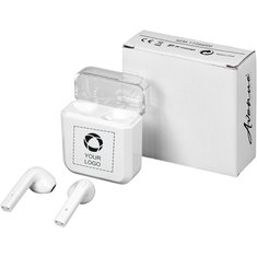 Avenue™ Braavos TrueWireless ørepropper med trådløs ladning
