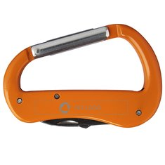 Bullet™ Canyon laserindgraveret karabinhagekniv med 5 funktioner