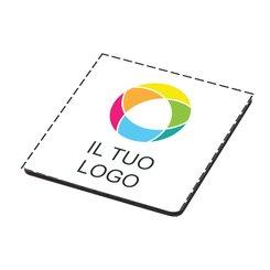Sottobicchiere in legno con stampa a colori