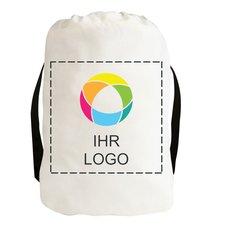 Zugbandrucksack aus Baumwollsegeltuch– exklusiv bei Promotique™