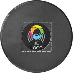 Avenue™ Circle wekker-speaker met draadloze oplader en full-colour drukwerk