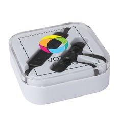 Écouteurs Bluetooth® Martell d'Avenue™ imprimés en couleur