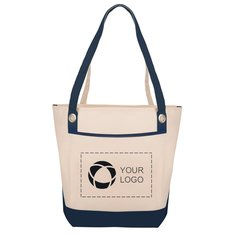 Harbor Boat Tote Bag