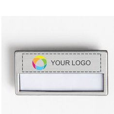 Window Name Badge with Magnet, Pack of 10