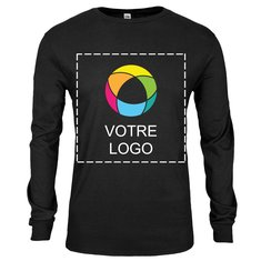 T-shirt manches longues imprimé encre jersey SofSpun Fruit Of The LoomMD