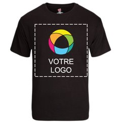 T-shirt à manches courtes impression encre TaglessMD HanesMD