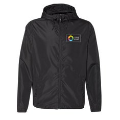 Independent Trading Co. Light Weight Windbreaker Zip Jacket