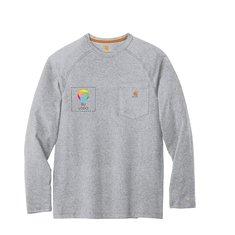 Camiseta de manga larga Carhartt® ForceDelmont de algodón