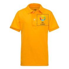 Camisa deportiva juvenil de tejido jersey y manga corta con antimanchas SpotShield™ de JERZEES®