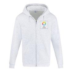 Sudadera de forro polar Port & Company® Tall Essential con capucha y cremallera completa