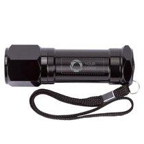 STAC™ lasergegraveerde zaklamp met 8 ledlampjes