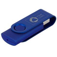 Rotate Metallic USB 4GB Laser Engraved