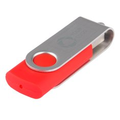 Roberbar Basic USB-nøgle, 1 GB med laserindgravering