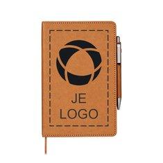 Bullet™ Celuk set met balpen en notitieboek
