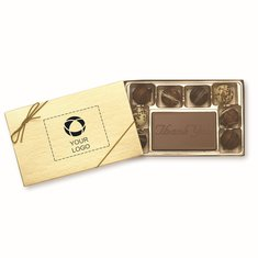 Thank You 8-Piece Truffle Gift Box, Case of 25