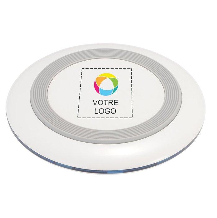Station de charge sans fil Tiz Qi d'Avenue™ imprimée en couleur