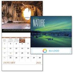 Calendario engrapado El Poder de la Naturaleza de BIC Graphic