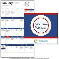 """Calendario engrapado """"Una palabra al día"""" de BIC Graphic"""