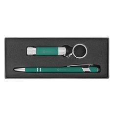 Ensemble cadeau de stylo à encre noire Executive Alpha