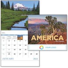 BIC Graphic Landscapes of America Stapled Calendar