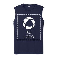 Camiseta Sport-Tek® PosiCharge® Competitor™ sin mangas para serigrafía