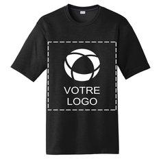 T-shirt sérigraphié Cotton Touch Competitor PosiChargeMD de Sport-TekMD