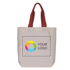 Cotton Tote Bag with Full-Color Inkjet