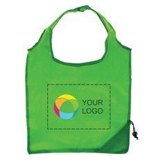 Foldaway Shopping Tote Bag with Full-Color Inkjet