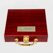 Wooden Box Poker Set