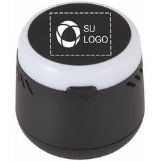 Altavoz balanceante con Bluetooth con logotipo iluminado