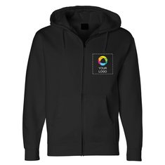 Independent Trading Co. - Full-Zip Hooded Sweatshirt