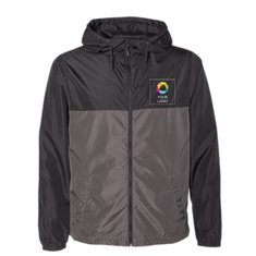 Independent Trading Co. - Water-Resistant Lightweight Windbreaker
