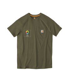 Camisa de manga corta Carhartt® ForceDelmont de algodón
