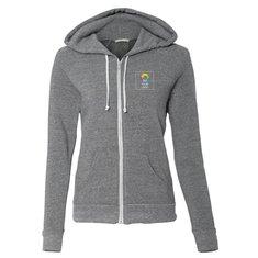 Alternative Ladies' Eco-Fleece Adrian Full-Zip Hooded Sweatshirt