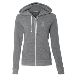 Alternative Ladies' Eco-Fleece Adrian Full-Zip Hooded Sweatshirt
