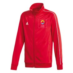 "adidas® Men's Polyester Jacket ""Core 18"""