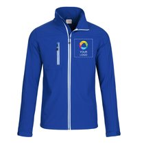 Printer Vert Men's Softshell Jacket