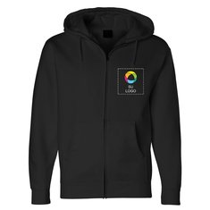 Independent Trading Co. - Full-Zip Hooded Sweatshirt