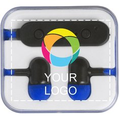 Bullet™ Color Pop Bluetooth® Earbuds Full Colour Print